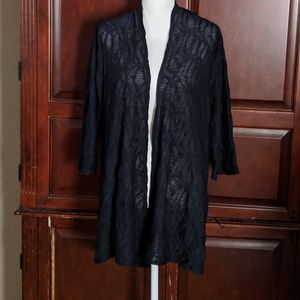 NWT Chico's Travelers Jacquard Duster Size Large